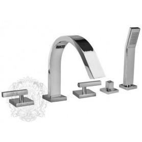 Смеситель на борт ванны Migliore Syntesi ML.SNS-7980 -