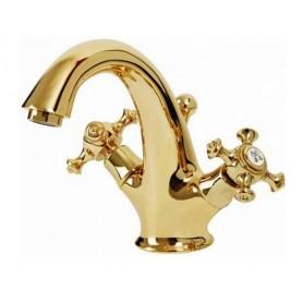Смеситель для раковины Migliore Prestige 734 (золото) ➦ Vanna-retro.ru