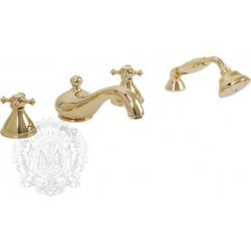 Смеситель на борт ванны Migliore Prestige 781 (золото)