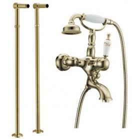 Смеситель для ванны напольный Boheme Provanse Ripresa 363, 601 (бронза)