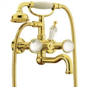 Смеситель для ванны Boheme Imperiale Presente 333 (золото)