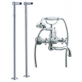 Смеситель для ванны напольный Boheme Tradizionale Chromo 273, 603 (хром)
