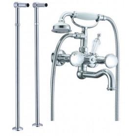 Смеситель для ванны напольный Boheme Brillante Presente 353, 603 (хром)