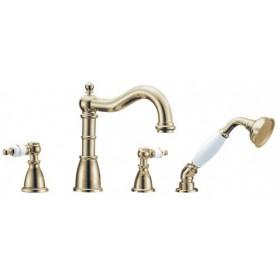 Смеситель на борт ванны ванны Boheme Provanse Ripresa 394 (бронза)