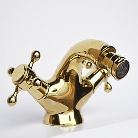Смеситель для биде Magliezza Classico 50110-do золото ➦ Vanna-retro.ru