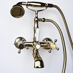 Смеситель для ванны в комплекте с лейкой TL-1-cr Magliezza Classico 50106-1-do