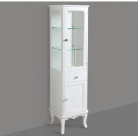 Шкаф с витриной Simas Arcada ARMV2 (белый) ➦ Vanna-retro.ru