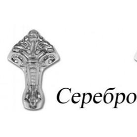 Ножки чугунные Эстет в цвете хром (комплект 4 шт.)