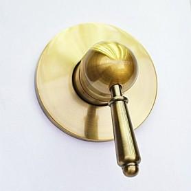 Встраиваемый смеситель для душа Magliezza Collana 50132-br бронза ➦ Vanna-retro.ru