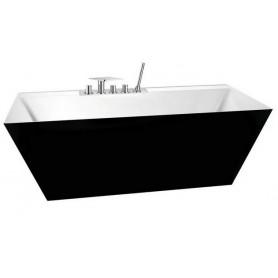 Ванна акриловая Belbagno BB19 181х81 Nero