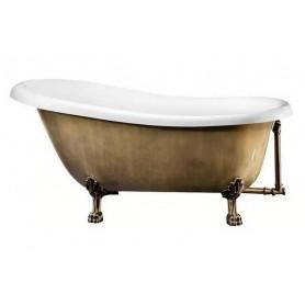 Ванна акриловая  Belbagno BB04 170x80 в цвете бронза