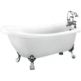Ванна акриловая Belbagno BB20 178x84 ножки хром