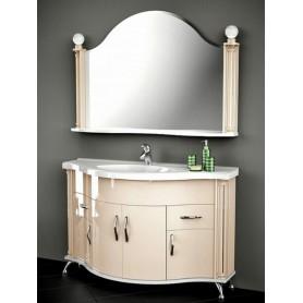 Мебель для ванной Белюкс Ария 140 в бежевом цвете