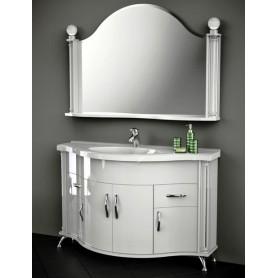 Мебель для ванной Белюкс Ария 140 в белом цвете