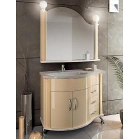 Мебель для ванной Белюкс Ария 110 в бежевом цвете