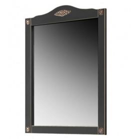 Зеркало Белюкс Верди 85 в черном цвете с патиной