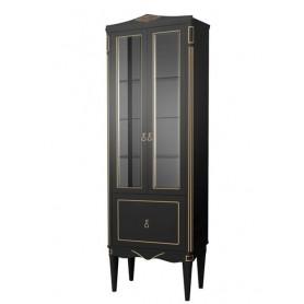 Шкаф-колонка Белюкс Верди П60 в черном цвете с патиной