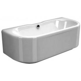 Ванна из натурального мрамора Esse Tefa 170x76 цвет белый