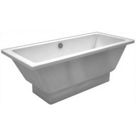 Ванна из натурального мрамора Esse Sumatra 170x75 цвет белый