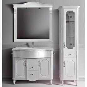 Мебель для ванной Белюкс Каталония 105 в белом цвете