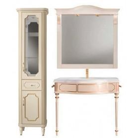Мебель для ванной Белюкс Каталония Отель 105 в цвете слоновая кость с патиной