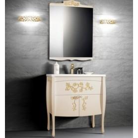 Мебель для ванной Белюкс Порто 80, цвет бежевый с золотом -