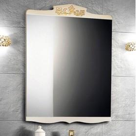 Зеркало Белюкс Порто 70, цвет бежевый с золотом