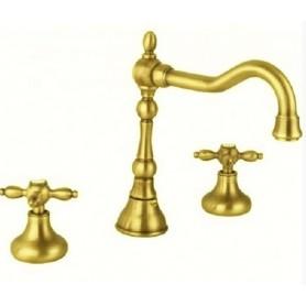 Смеситель для раковины, удлинённый Cezares Atlantis-Nostalgia BLS2-A-03 золото ➦