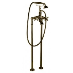 Смеситель для ванны напольный Cezares Atlantis-Nostalgia VDP-02 бронза ➦