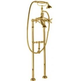 Смеситель для ванны напольный Cezares Atlantis-Nostalgia VDPS-03 золото