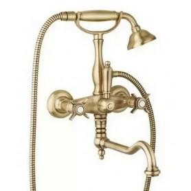 Смеситель для ванны Cezares Lord VDF-02 бронза