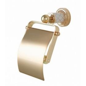 Бумагодержатель Bogeme Murano 10901WG золото ➦ Vanna-retro.ru
