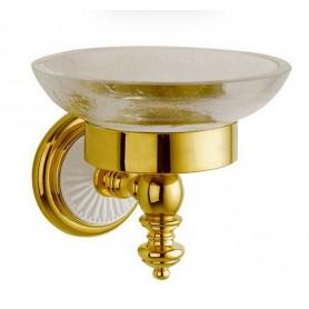 Мыльница Bogeme Palazzo Bianco 10103 золото/белый ➦ Vanna-retro.ru
