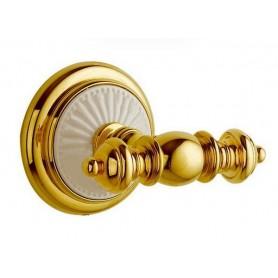 Крючок Bogeme Palazzo Bianco 10106 золото/белый ➦ Vanna-retro.ru