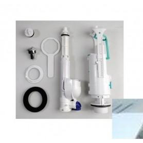 Механизм смыва для напольного унитаза Kerasan Retro 750990 хром