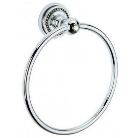 Полотенцедержатель кольцо Bogeme Brillante, 10434, цвет: хром ➦ Vanna-retro.ru