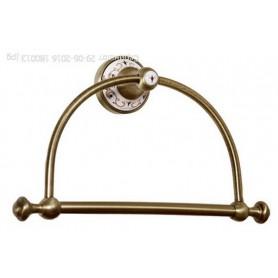 Плотенцесушитель кольцо Bogeme Provanse, 10805, цвет: бронза ➦