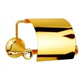Бумагодержатель Boheme Chiaro 10501 золото ➦ Vanna-retro.ru