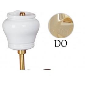 Комплект механизмов для низкого бочка с кнопкой Migliore Milady (золото) ➦