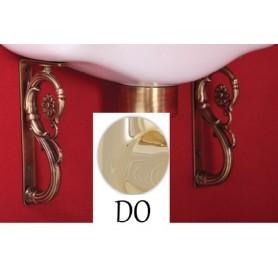 Декоративные уголки (пара) Migliore 5110 (золото)