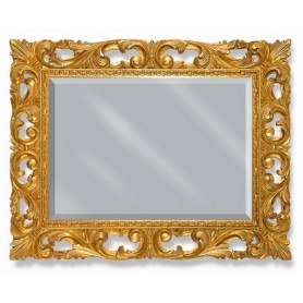 Зеркало прямоугольное Migliore 70.502 (цвет золото) ➦ Vanna-retro.ru