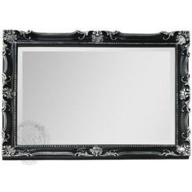 Зеркало прямоугольное Migliore 70.504 (цвет черный с серебром) ➦ Vanna-retro.ru