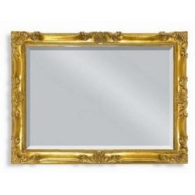 Зеркало прямоугольное Migliore 70.504 (цвет золото) ➦ Vanna-retro.ru