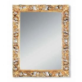 Зеркало прямоугольное Migliore 70.708 (цвет золото) ➦ Vanna-retro.ru