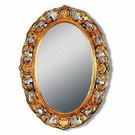 Зеркало овальное Migliore 70.703 (цвет бронза) ➦ Vanna-retro.ru