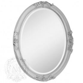 Зеркало овальное Migliore 70.503 (цвет серебро) ➦ Vanna-retro.ru