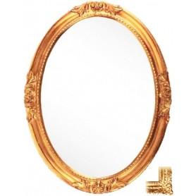 Зеркало овальное Migliore 70.503 (цвет золото) ➦ Vanna-retro.ru