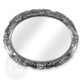 Зеркало овальное Migliore 70.781 (цвет серебро) ➦ Vanna-retro.ru