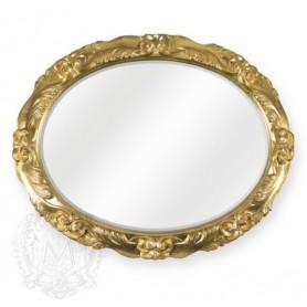 Зеркало овальное Migliore 70.781 (цвет золото) ➦ Vanna-retro.ru