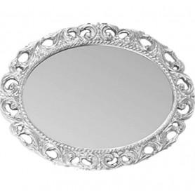 Зеркало овальное Migliore 70.724 (цвет серебро)